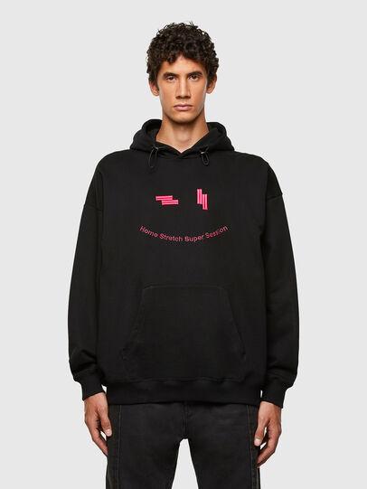 Diesel - S-UMMEREL-N1, Black - Sweaters - Image 1