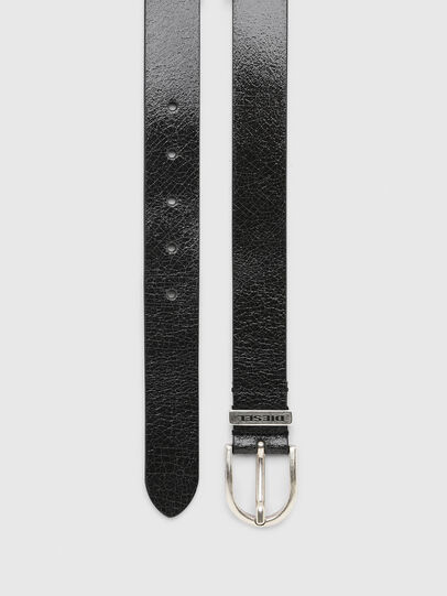 Diesel - B-WORN, Black - Belts - Image 3