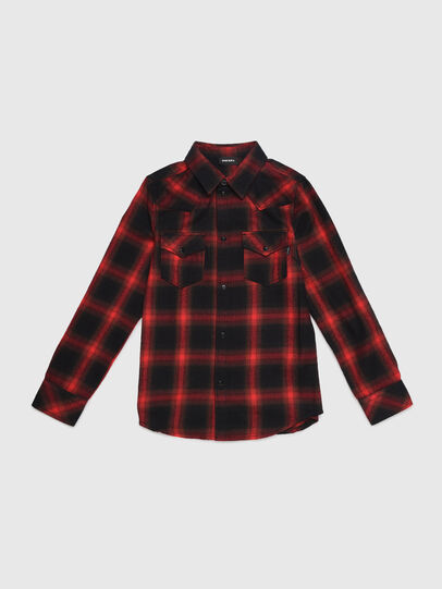 Diesel - CBONNY, Red/Black - Shirts - Image 1