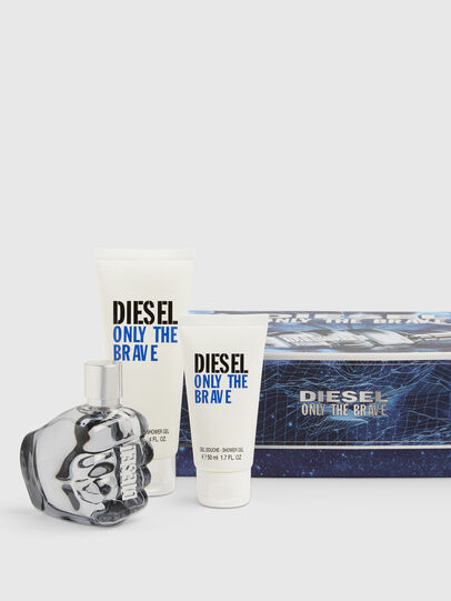 Diesel - ONLY THE BRAVE 75ML GIFT SET, Blue - Only The Brave - Image 1