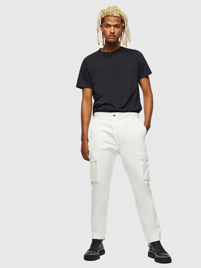 Diesel - P-JARED-CARGO, White - Pants - Image 5