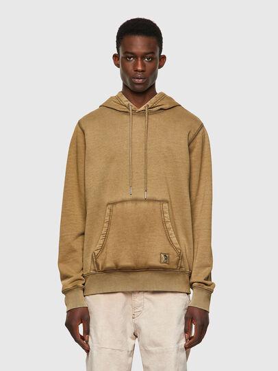 Diesel - S-GIRK-HOOD-MOHI-B1, Light Brown - Sweaters - Image 1