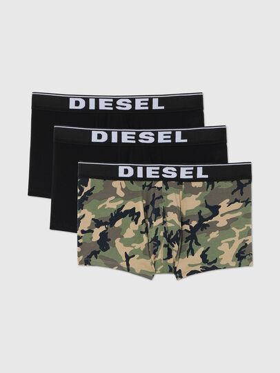 Diesel - UMBX-DAMIENTHREEPACK, Black/Green - Trunks - Image 1