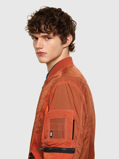 Diesel - J-OLIVE, Orange - Jackets - Image 3