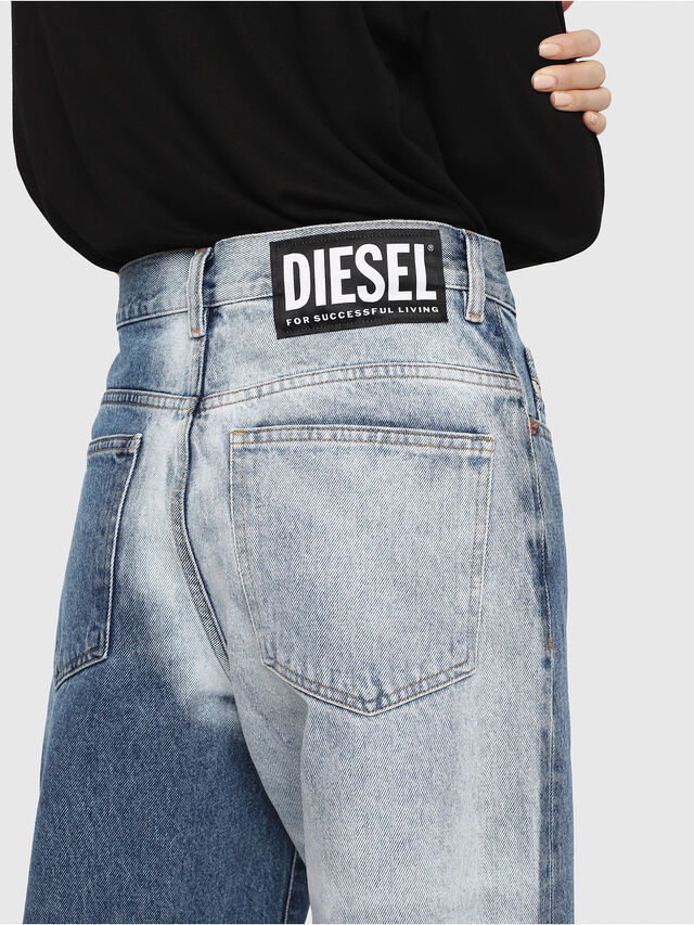 Diesel - Widee 0077V, Medium blue - Jeans - Image 5