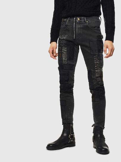 Diesel - D-Strukt 0093P, Black/Dark grey - Jeans - Image 1