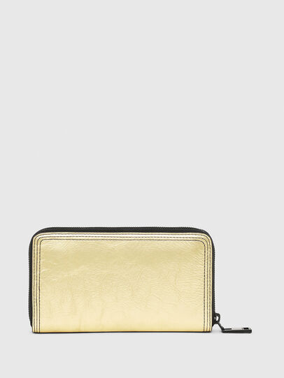 Diesel - GRANATO LC, Gold/Black - Zip-Round Wallets - Image 2