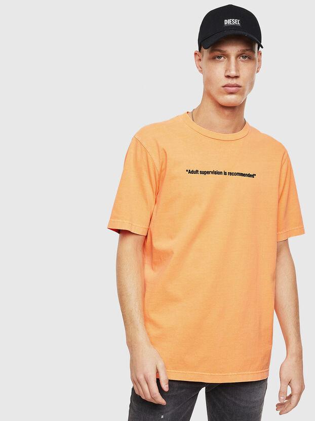 T-JUST-NEON, Orange - T-Shirts