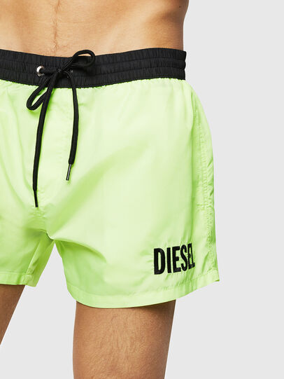 Diesel - BMBX-SANDY 2.017, Green Fluo - Swim shorts - Image 3