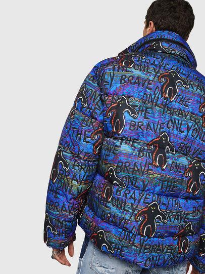 Diesel - W-PIATIG-MONSTER, Blue/Black - Winter Jackets - Image 2