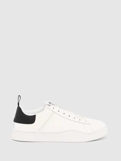 Diesel - S-CLEVER SO W, White/Black - Sneakers - Image 1