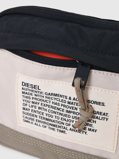 Diesel - DRESSLEK, White/Orange - Crossbody Bags - Image 5