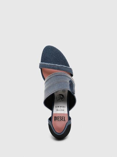 Diesel - SA-SLANTY MBT, Blue Jeans - Sandals - Image 5