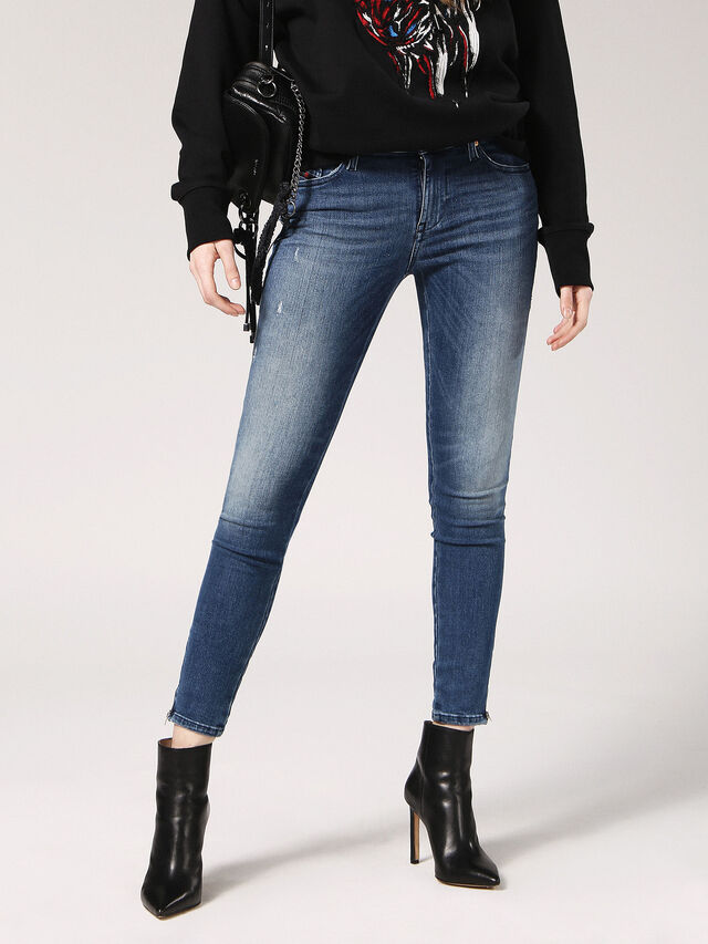 SKINZEE-ZIP 0689I, Blue Jeans