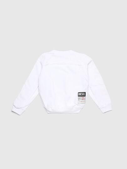Diesel - SLYANYDY, White - Sweaters - Image 2
