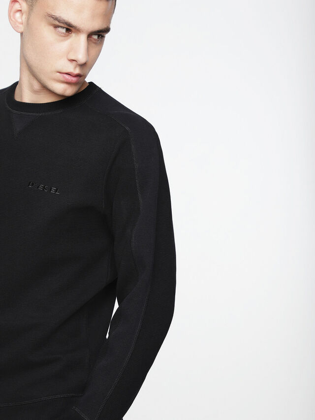 Diesel - S-TINA, Opaque Black - Sweaters - Image 3