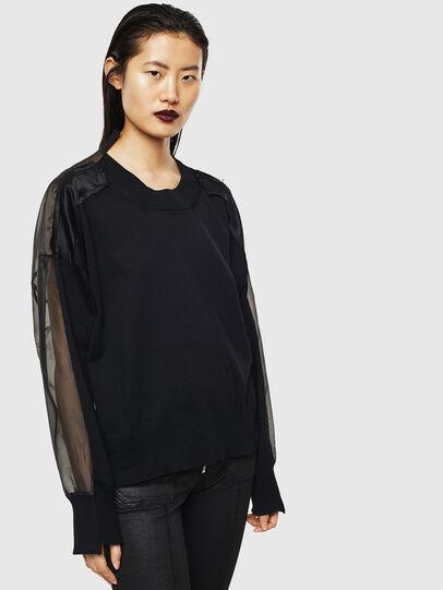 Diesel - MOLLYS, Black - Knitwear - Image 6