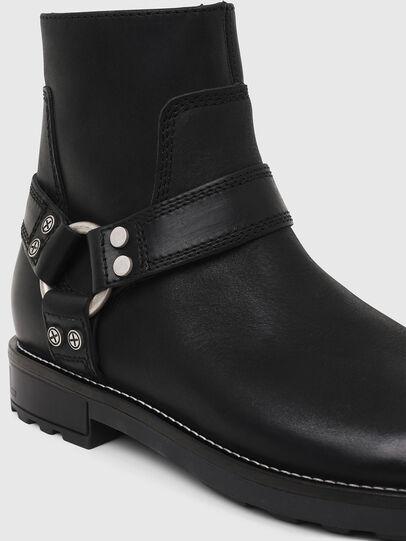 Diesel - D-THROUPER AB, Black - Boots - Image 4