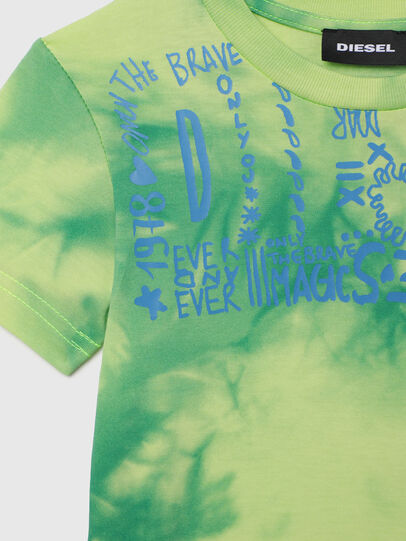 Diesel - TIMMYB-R, Green - T-shirts and Tops - Image 3