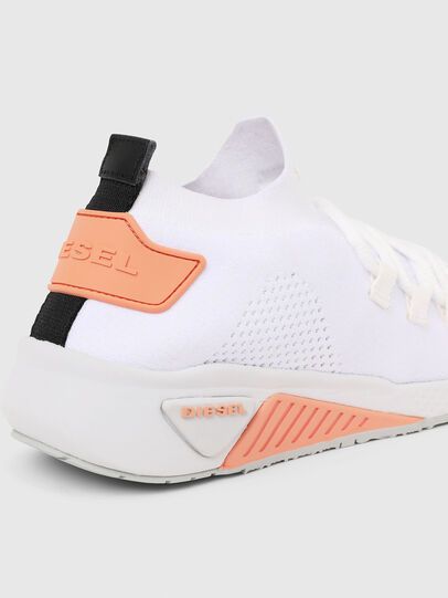 Diesel - S-KB ATHL LACE W, White/Pink - Sneakers - Image 5