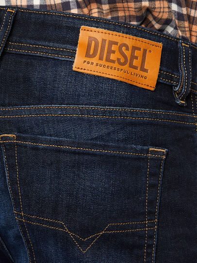 Diesel - Sleenker 009EY, Dark Blue - Jeans - Image 5