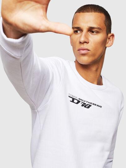 Diesel - UMLT-WILLY, White - Sweaters - Image 4