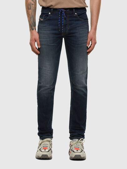 Diesel - Thommer JoggJeans 069NE, Dark Blue - Jeans - Image 1