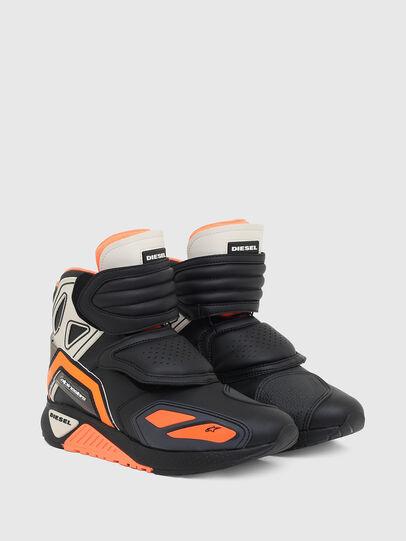 Diesel - ASTARS-SKBOOT, Black/Orange - Sneakers - Image 2