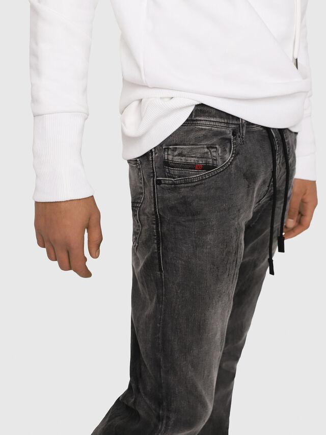 Diesel - Narrot JoggJeans 8880U, Black/Dark grey - Jeans - Image 4
