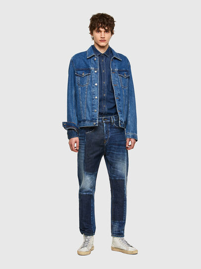 Diesel - D-Vider 009NJ, Medium blue - Jeans - Image 6