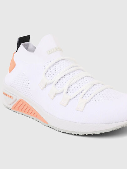 Diesel - S-KB ATHL LACE W, White/Pink - Sneakers - Image 4