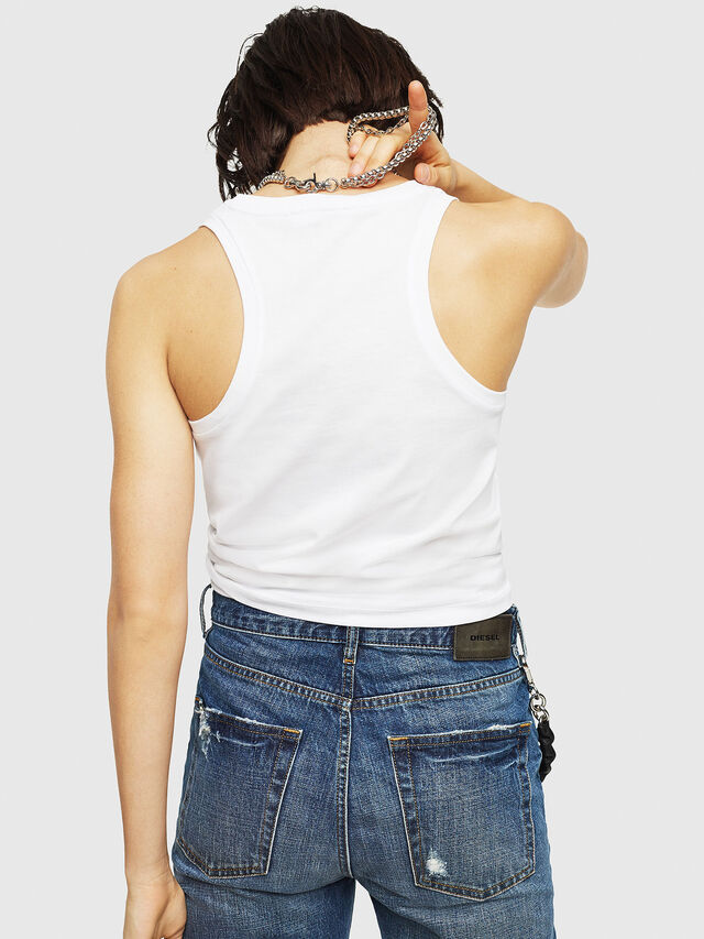 Diesel - T-SYLKY, White - Tops - Image 2