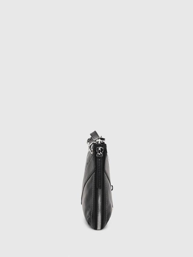 Diesel LE-LITTSYY, Black Leather - Clutches - Image 3