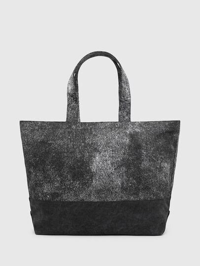 Diesel - D-THISBAG SHOP MB, Gray/Black - Shopping and Shoulder Bags - Image 2