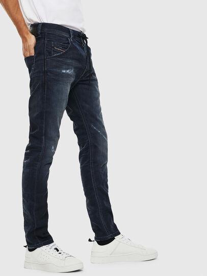 Diesel - Krooley JoggJeans 069KB, Dark Blue - Jeans - Image 4