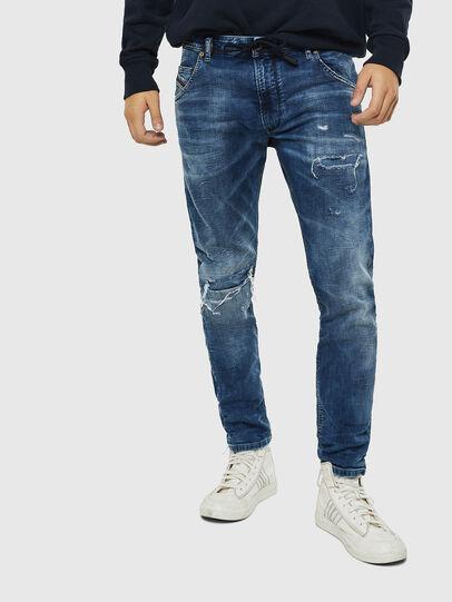 Diesel - Krooley JoggJeans 0685I, Medium blue - Jeans - Image 1