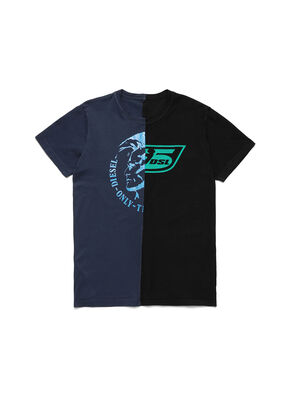 D-MESO&MESO, Blue/Black - T-Shirts