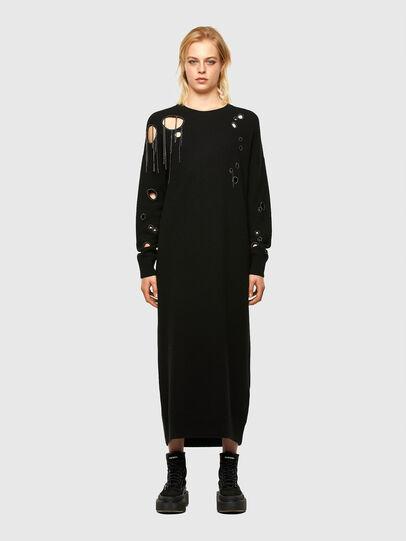 Diesel - M-EMERALD, Black - Dresses - Image 1