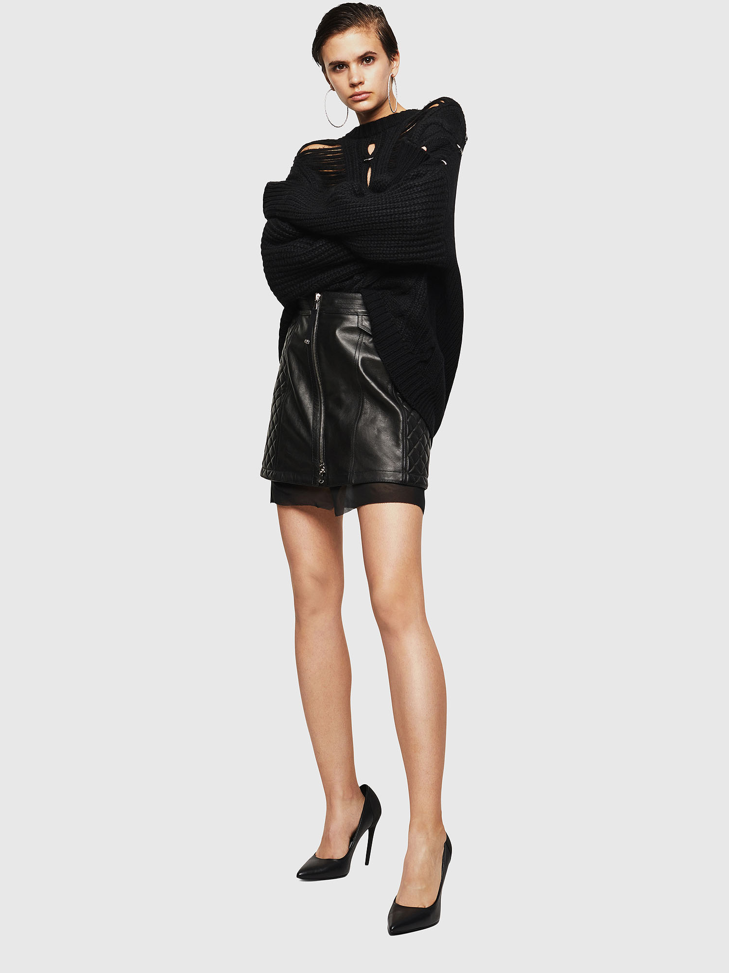 Diesel - OLESIA,  - Leather skirts - Image 6