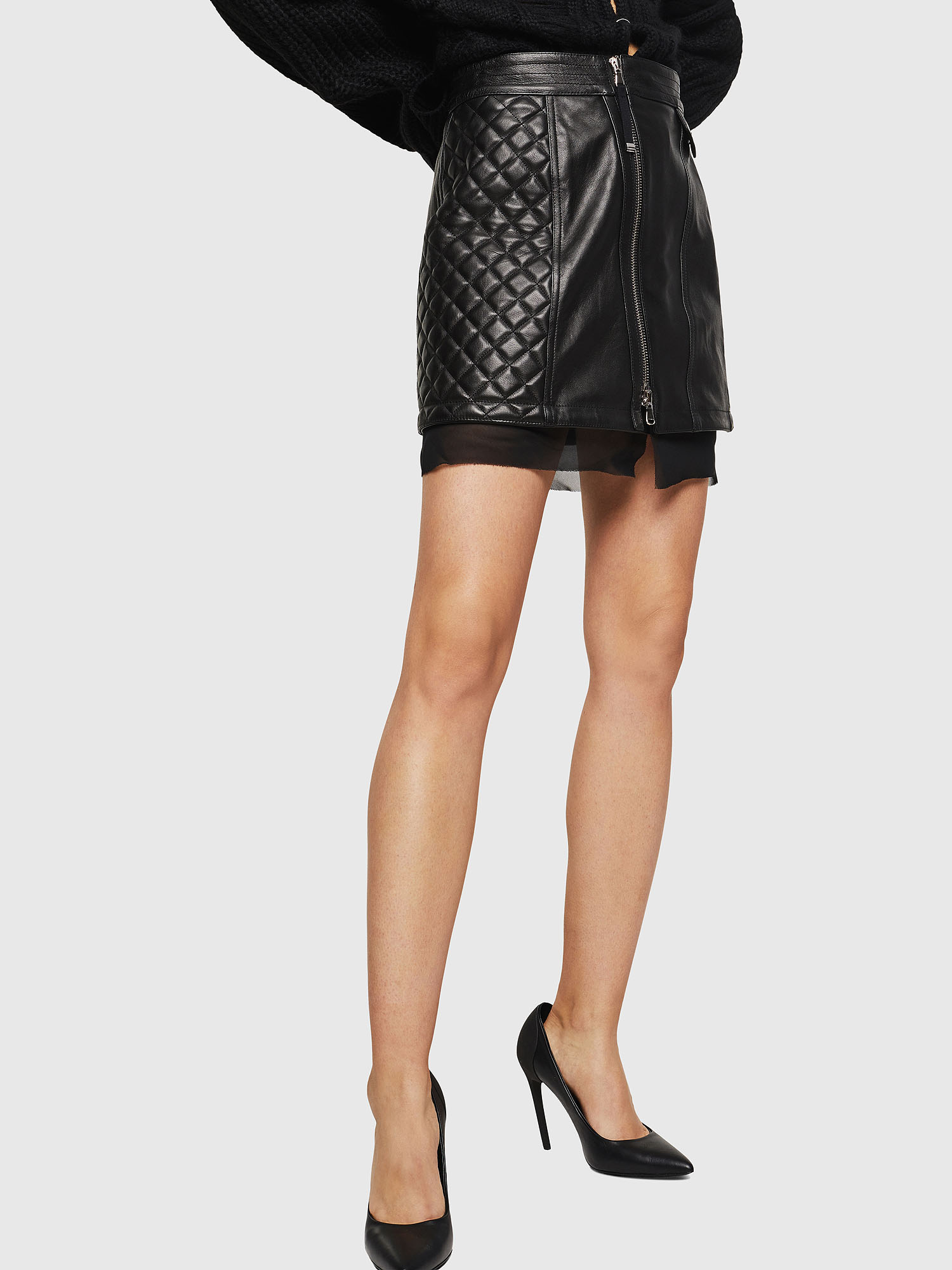 Diesel - OLESIA,  - Leather skirts - Image 1