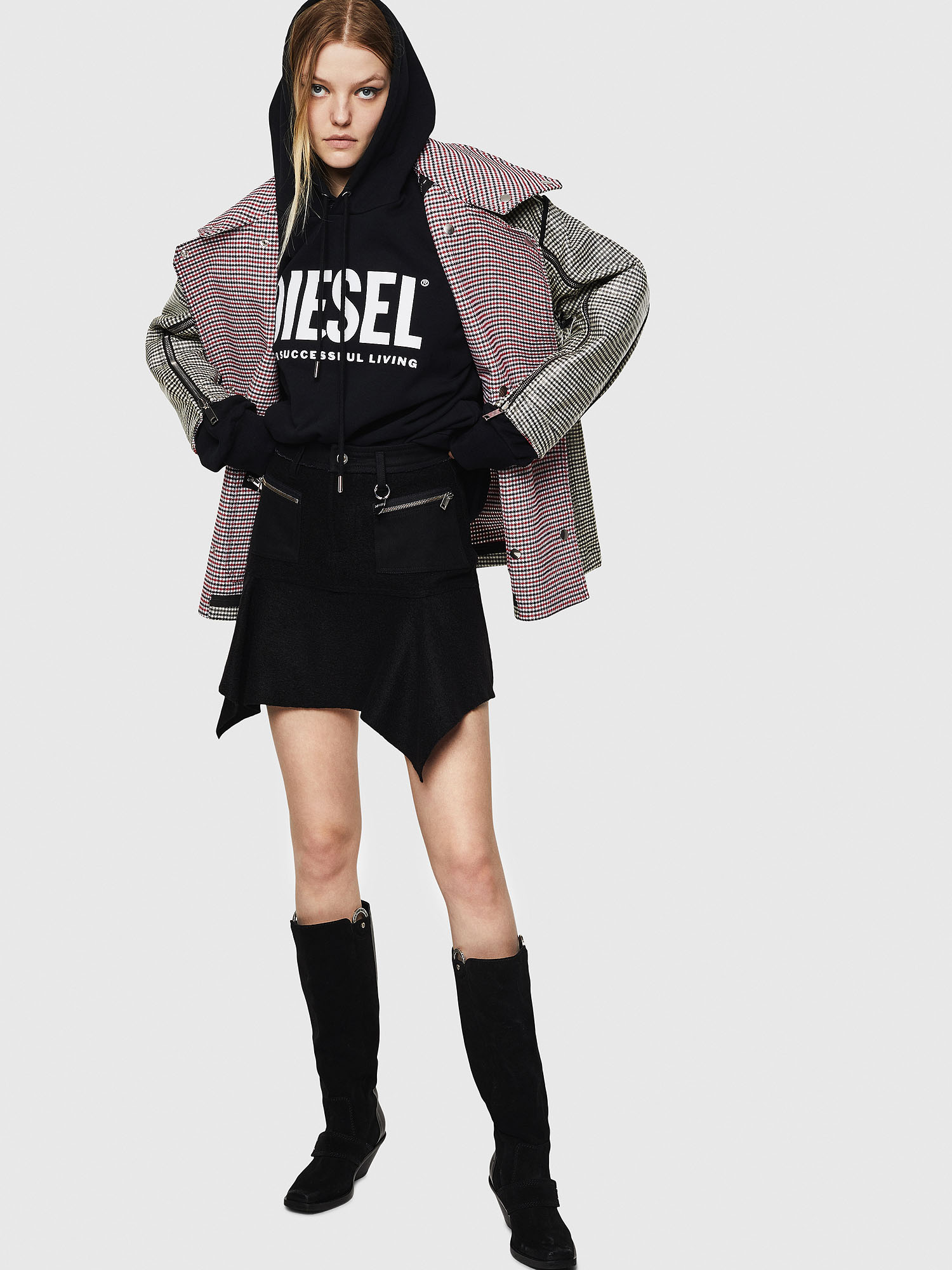 Diesel - O-BRYEL-A,  - Skirts - Image 6